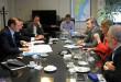 """El gobernador Omar Gutiérrez precisó que el plan de inversiones 2017-2021 de la empresa asciende a 310 millones de pesos y permitirán incorporar más de 62 mil nuevos usuarios en la provincia. La magnitud de la inversión –sostuvo- permitirá """"generar más empleo en Neuquén""""."""