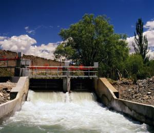 dique Canal Las Tunas primer plano